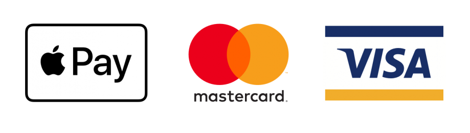 accepts Apple Pay, Mastercard and visa